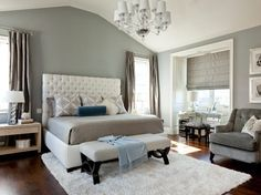 Definite bedroom color scheme....cozy