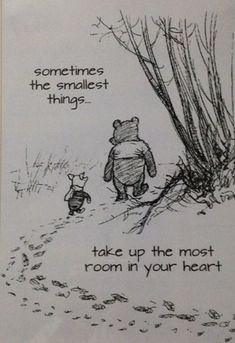 Winnie the Pooh... Love this quote! I'm totally painting this for my niece/nephew's nursery!