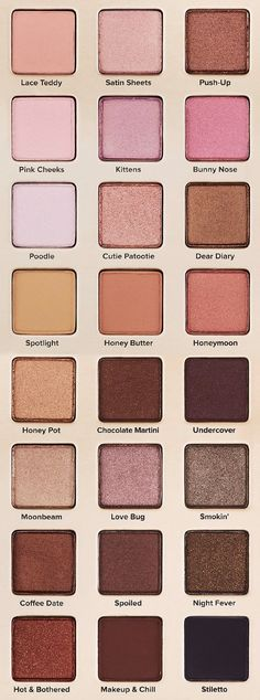 Too Faced Natural Love Palette | Limited Edition Too Faced Cosmetics Neutral Eyeshadow Collection
