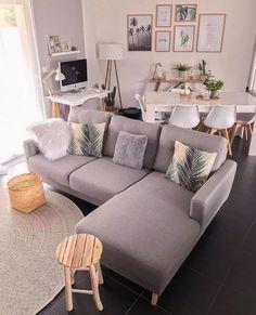 45 amazing gorgeous living room color schemes to make your room cozy 8 – Home De… - Modern Living Room Color Schemes, Living Room Colors, Living Room Grey, Home Living Room, Living Room Decor, Cozy Living, Interior Design Living Room, Living Room Designs, Kitchen Interior