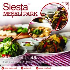 Siesta Meşelipark Ramazan Ayı menüsü