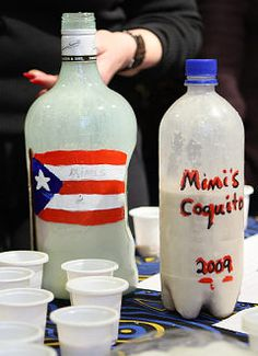 Coquito! It's like Puerto Rican egg nog, definitely a holiday treat. My dad makes the best!