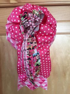 Minnie Mouse Gift Bow for Gift Box Gift Basket by MargiesBOWtique