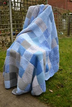 The story of the sky blanket - a year long craft project - This Little Space of Mine