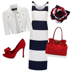 """""""red white and blue!"""" by kelsi-jai on Polyvore"""