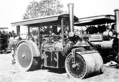 . Road Construction, Steam Engine, Rollers, Diesel, Antique Cars, Classic Cars, Toys, Building, Vehicles