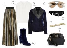 Mel Boteri Style Guide: Add Some Glam To Your Fall Workwear
