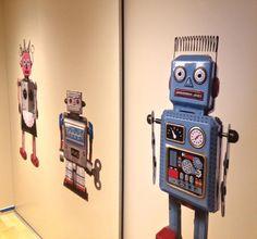 wallmania sticker #retro #robots