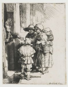 Bedelende family  Rembrandt Harmensz. van Rijn, 1648