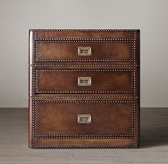 Marseilles 3-Drawer Nightstand ~ $995. This was my dream set but we went with the other.