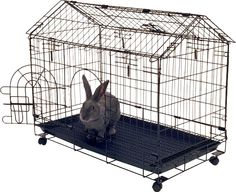 Kennel-Aire Bunny House Rabbit Cage & Reviews | Wayfair