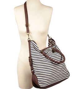 Cute and Cheap at Forever 21... would make a cute bag for keeping all my nursey things in