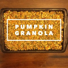 A super easy granola recipe that is packed with nutrients that is kid tested an mom approved! Ingredients 3 cups rolled oats 1 cup pumpkin seeds ½ cup quinoa or millet ½ cup pecans, pieces or chopp...