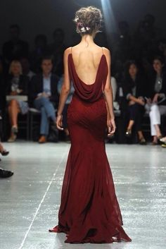 dress red straps open back runway gown red dress spagetti straps oxblood…