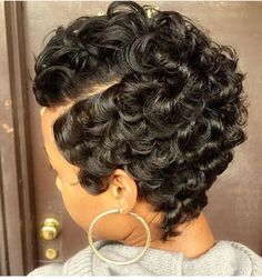 89 Best Pincurls And Fingerwaves Images In 2019 Pixie