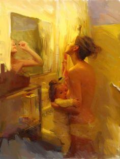 Mamíferas ¿Cómo desarma el puerperio?  Después de centenares de días mojando la ropa con leche y amaneciendo transpirada y pegoteada junto al pequeño, las mujeres puérperas nos animamos a mirarnos al espejo antes de la ducha, y descubrimos quienes somos ahora.  https://www.facebook.com/somosmamiferas/photos/a.1411234989142265.1073741836.1393812737551157/1484273551838408/?type=1