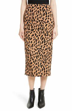 Main Image - Diane von Furstenberg Tailored Midi Pencil Skirt