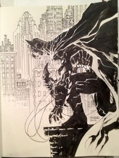 Now, that's a Batman! sketch by Jim Lee