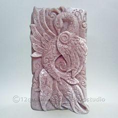 Peacock Soap (Purple) - Soap Studio