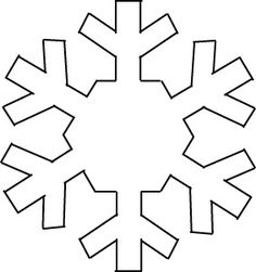 56 Ideas for craft christmas kids snowflake template Snowflake Cutouts, Snowflake Template, Snowflake Craft, Snowflake Pattern, Christmas Snowflakes, Felt Christmas, Christmas Colors, Christmas Crafts, Christmas Decorations
