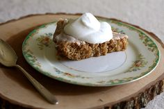Lemon Glazed Spice Cake by joy the baker, via Flickr