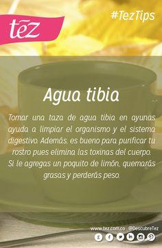 Beneficios del agua tibia