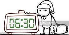 Resultat d'imatges de clock cartoon