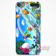 New Super Mario Bros iPod Touch 6 Case | casefantasy