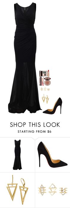 """Untitled #516"" by h1234l on Polyvore featuring Blumarine, Christian Louboutin, Charlotte Russe, Charlotte Tilbury, women's clothing, women, female, woman, misses and juniors"