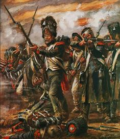 Waterloo 1815, Battle Of Waterloo, Military Art, Military History, Bataille De Waterloo, First French Empire, French Pictures, George Cross, Art Of Fighting