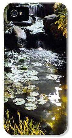 Koi Pond At Night  iPhone5 Case