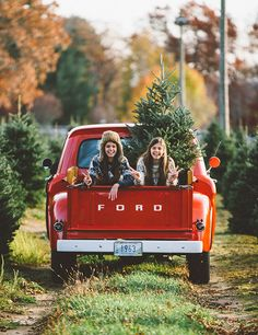 Christmas tree and vintage truck for Christmas minis with kids Country Christmas Trees, Christmas Minis, Christmas Photo Cards, Christmas Pictures, Winter Christmas, Christmas Time, Christmas Truck, Christmas Ideas, Christmas Tree Cutting