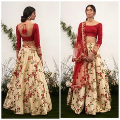 69 Trendy Skirt Outfits Indian Floral PrintsYou can find Indian dresses and more on our Trendy Skirt Outfits Ind. Indian Wedding Outfits, Pakistani Outfits, Wedding Dresses, Indian Weddings, Desi Clothes, Indian Clothes, Indian Lehenga, Lehnga Dress, Lengha Choli