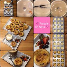 Pasteis de Nata – Portugisische Vanilletörtchen mit knusprig gebrannter Karamellkruste… sowas von lecker! | Das Leben ist zu kurz, um schlechten Wein zu trinken! | Bloglovin'