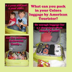 A Disney Mom's Thoughts: American Tourister Colora Review #SP   It's amazing what all can fit in the @American Tourister Colora Bag!!