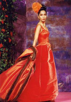 1990 Christian Lacroix Haute Couture Fall-Winter