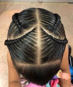 Untitled Natural Hairstyles For Kids, Little Girl Hairstyles, Hairstyles For School, Natural Hair Styles, Hair Due, Little Girl Fashion, Hair Videos, Hair Goals, Braided Hairstyles