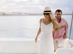 Rosemary Beach Engagement Shoot, yacht engagement shoot.