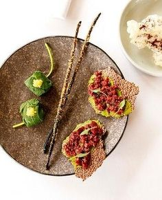 Wallaby tartare from Brae in Australia. 88 in the world. Melbourne Restaurants, Best Chef, Indigenous Art, Culinary Arts, Food Presentation, Food Plating, Good Food, Eat, Chefs