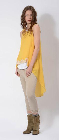 #asymmetric #top and #fleece pants