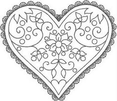 HEARTS Machine Embroidery Redwork design set of 2 sizes Embroidery Hearts, Hand Embroidery Patterns, Ribbon Embroidery, Embroidery Applique, Cross Stitch Embroidery, Machine Embroidery, Embroidery Designs, Bordado Popular, Needlework