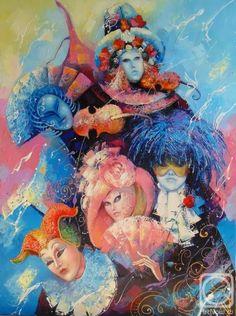"Моисеева Лиана. из серии ""По дороге на карнавал"""
