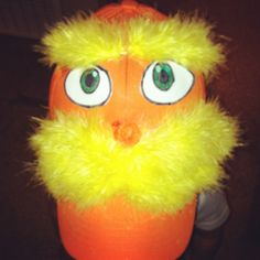 The Lorax for Dr Suess crazy hat day at school