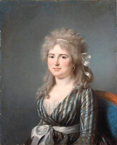 Mme JL Germain by Marie-Gabrielle Capet (French artist, 1761-1818)