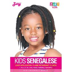 Zury Kid's Crochet Braid KIDS SENEGALESE
