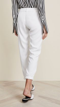 Parker Womens Elliot Pants Pearl 12 ** Look into this wonderful product. (This is an affiliate link). Fall Fashion Leggings, China Fashion, Summer Shorts, Ankle Length, Dress Pants, Trousers, Slim, Pearl