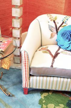 Lucy & Co. Room with a Shawna Robinson Happy Chair