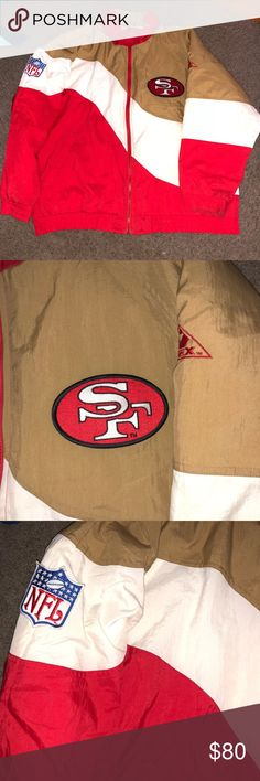 San Fransisco Men's Large puffer Jacket NFL pro line Large jacket in excellent condition! Not a Nike product Nike Jackets & Coats Puffers