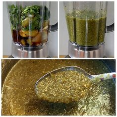 Roasted Tomatillo Salsa Verde by Monica with canning instructions. Tomatillo Salsa Verde, Roasted Tomatillo Salsa, Mexican Salsa, Good Food, Yummy Food, Comida Latina, Homemade Salsa, Cooking Recipes, Healthy Recipes