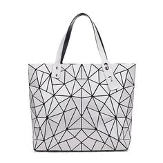 2017 Fashion Bag Women Tote laser Bag summer Geometric Hand Bags bao bao  Handbag ladies Famous 43d1a534970aa